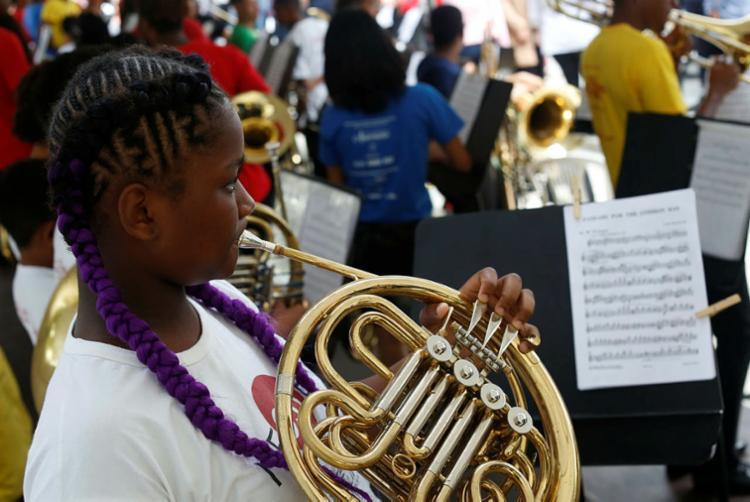 Núcleo oferece iniciação musical, prática musical coletiva e luteria - Foto: Rafael Martins | Ag: A TARDE