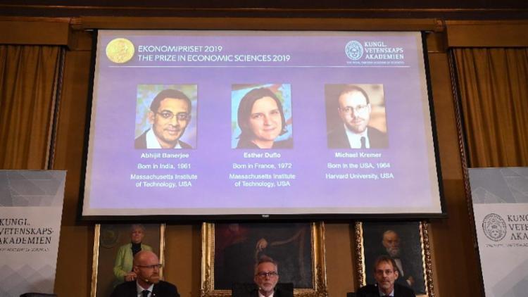 Nobel da Economia foi o último dos prêmios a ser anunciado este ano - Foto: Jonathan Nackstrand | AFP