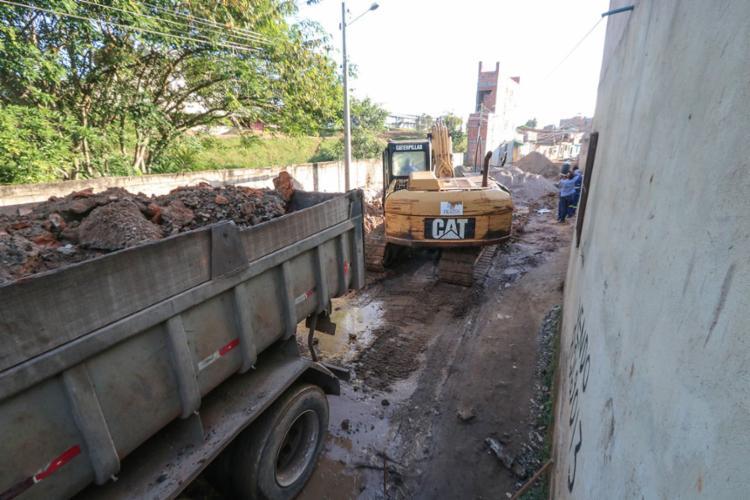 Estão assegurados cerca de R$ 21 milhões para pavimentação de mais 35 ruas do município - Foto: Danilo Magalhães | Secom