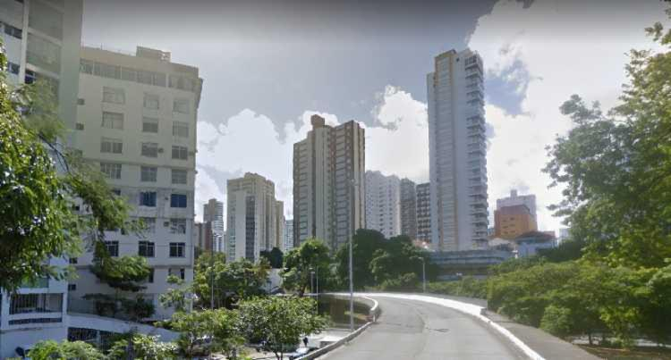 Bloqueio será realizado no acesso ao viaduto no sentido Comércio - Foto: Reprodução | Google Street View