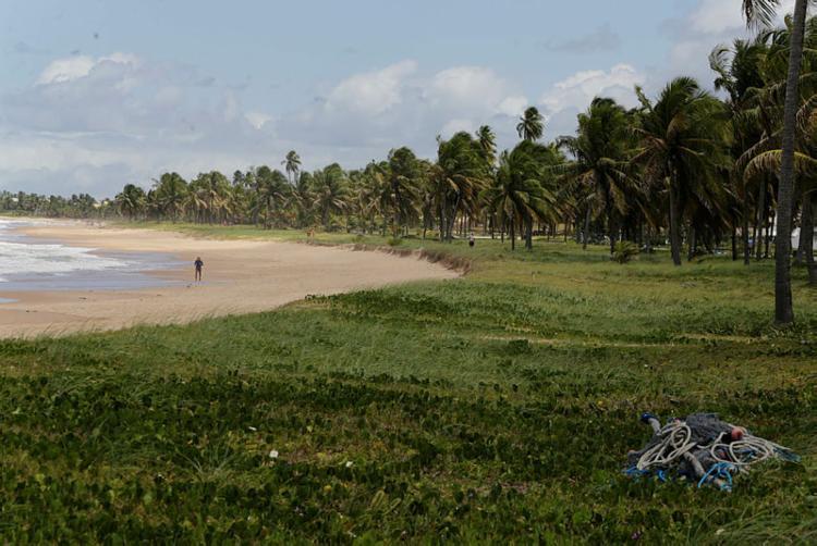 Praia de Guarajuba recebe Bandeira Azul no próximo dia 15 de novembro - Foto: Luciano da Matta | Ag. A TARDE | 24.9.2019