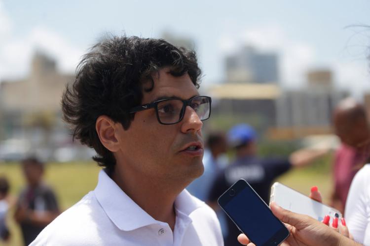 O presidente relatou que relatou que aproximadamente 25 toneladas do material foram retirados das praias de Salvador - Foto: Joá Souza   Ag. A TARDE