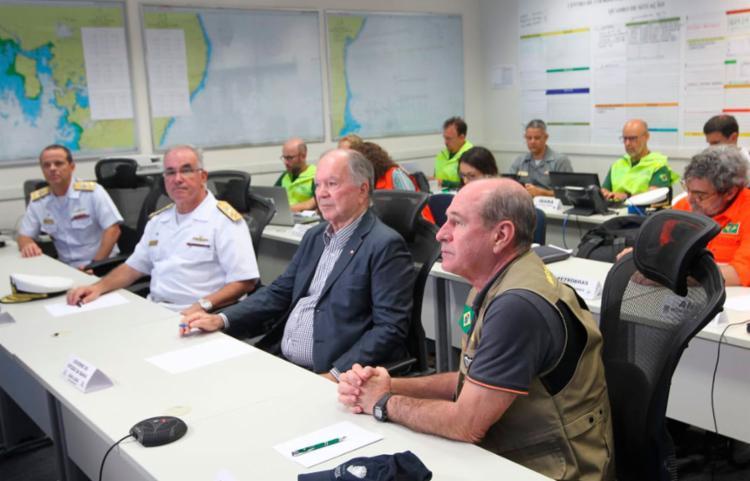Reunião aconteceu no Comando do 2º Distrito Naval - Foto: Mateus Pereira   GOVBA