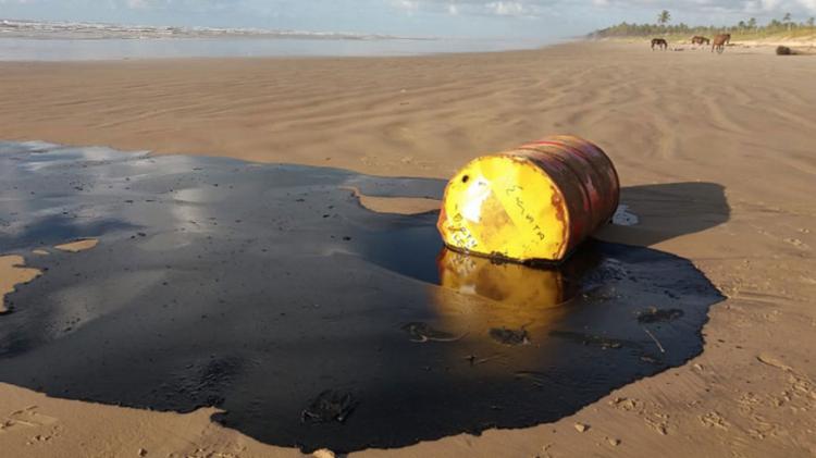 O presidente disse que as investigações demonstram, em um primeiro momento, que o petróleo não vem de vazamento de plataformas de exploração - Foto: Marcos Rodrigues | Gov-SE | 27.9.2019