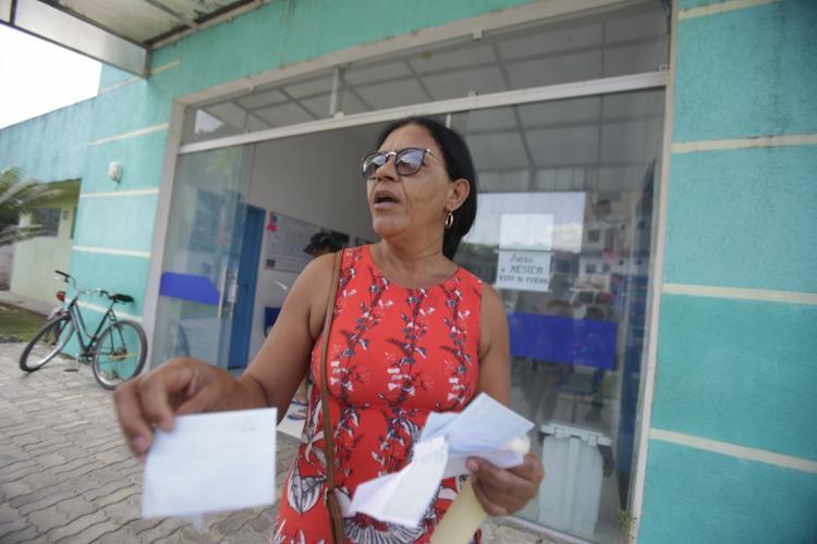 """""""Recorremos à Santa Casa, porque nos postos é difícil"""" Marlene Rosário,dona de casa"""