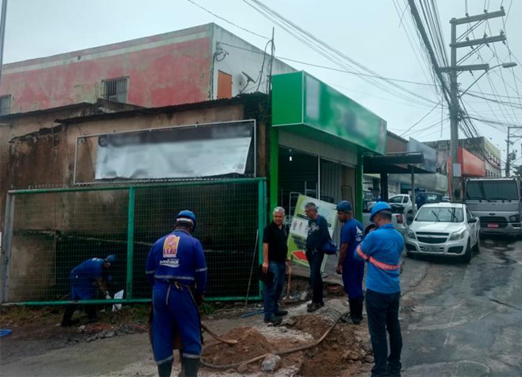 Responsáveis devem quitar o débito e ressarcir à Embasa do desvio de água - Foto: Divulgação | Embasa