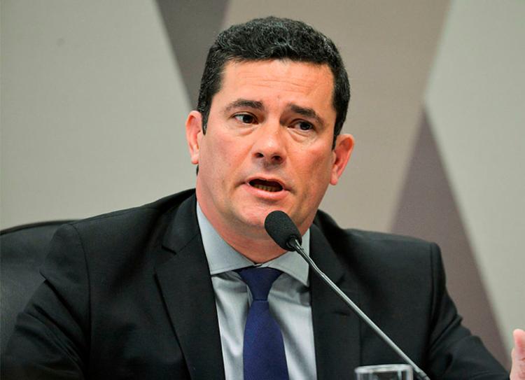 Moro tenta levar adiante o projeto anticrime no Congresso - Foto: Marcelo Camargo | Agência Brasil