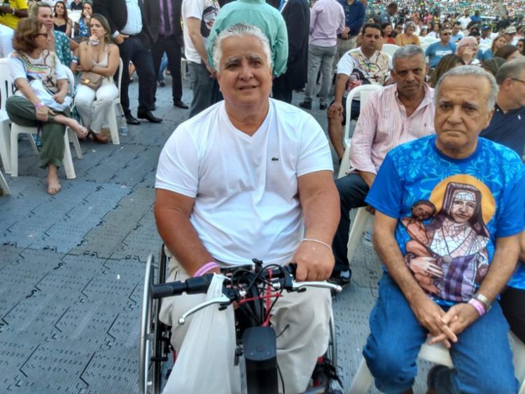 Agenor Gordilho (à esq.) e Silvonei Sales - Foto: Bianca Carneiro   Ag. A TARDE