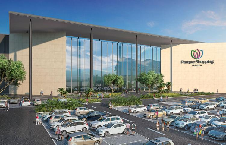 Parque Shopping Bahia deverá gerar aproximadamente 3.500 empregos diretos - Foto: Divulgação