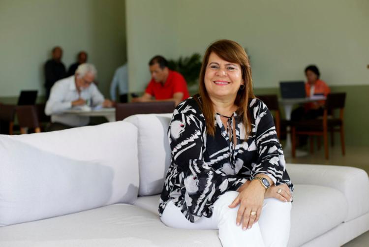 Joelma acredita que a satisfação está atrelada à sua dedicação - Foto: Raul Spinassé | Ag. A TARDE