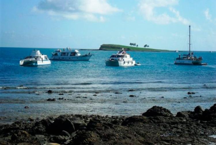 O Arquipélago de Abrolhos fica localizado no Litoral Sul da Bahia - Foto: Ricardo Jerozolismki   ICMBio