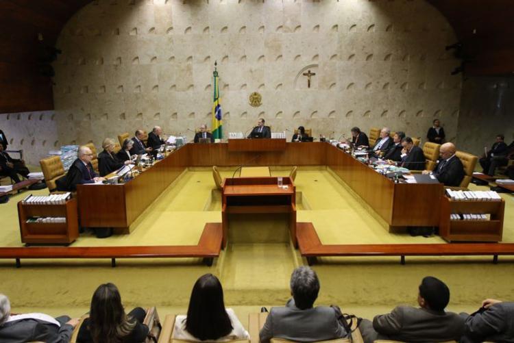 O julgamento sobre a validade da prisão em segunda instância do STF entra nesta quarta-feira em seu terceiro dia - Foto: Fabio Rodrigues Pozzebom | Agência Brasil