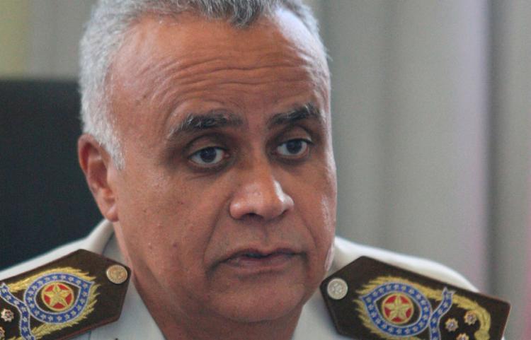 Coronel Anselmo Brandão, comandante geral da Polícia Militar da Bahia - Foto: Luciano da Matta | Ag. A TARDE