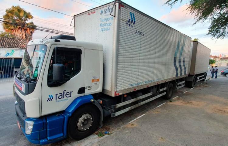 Veículo havia saído do Rio de Janeiro com destino a Recife - Foto: Divulgação | Polícia Civil
