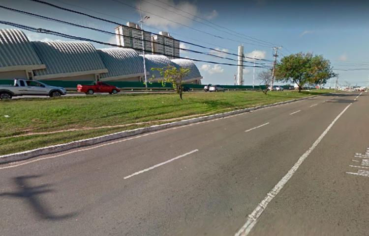 Caso aconteceu na proximidade da estação de metrô Flamboyant - Foto: Reprodução | Google Street View