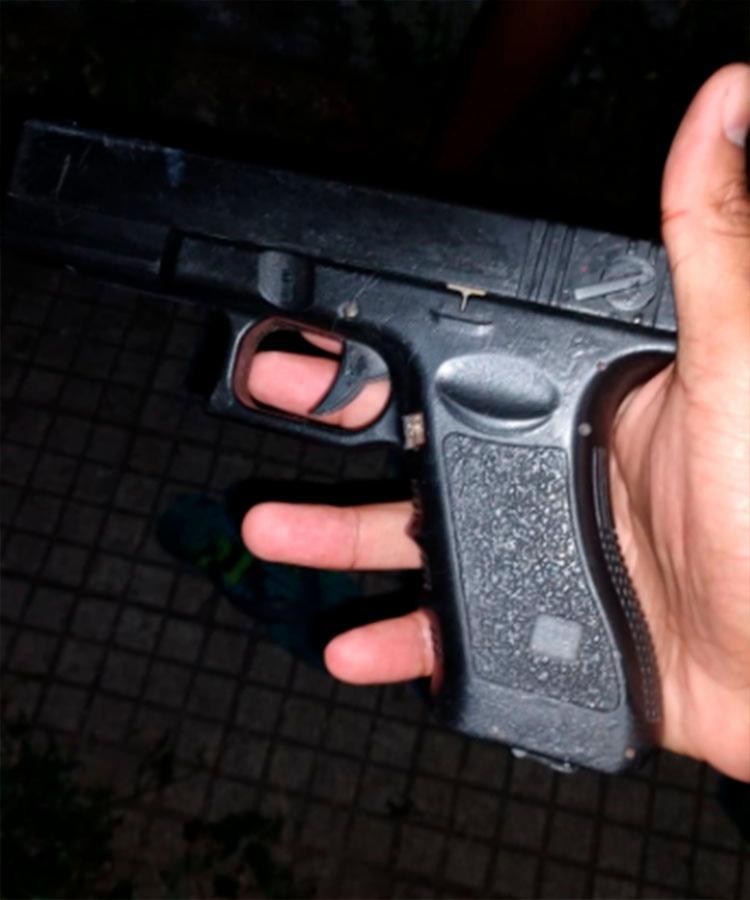 Protótipo era utilizado para praticar assaltos - Foto: Reprodução | SSP-BA