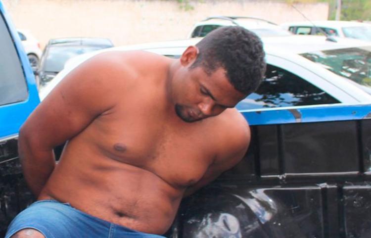 Suspeito já foi preso por roubo - Foto: Gustavo Moreira   Radar 64