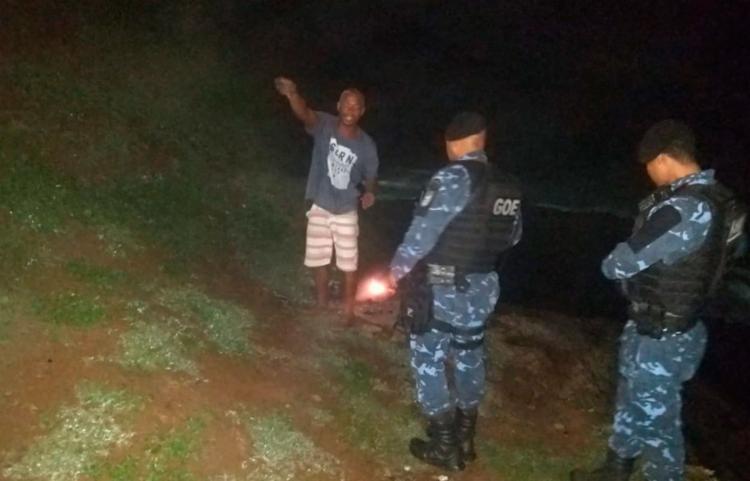 Suspeito tem diversas passagens pela polícia - Foto: Divulgação   Guarda Civil Municipal
