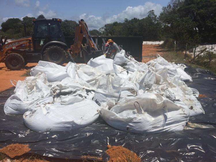 Material está enviado para uma empresa de tratamento de resíduos - Foto: Divulgação