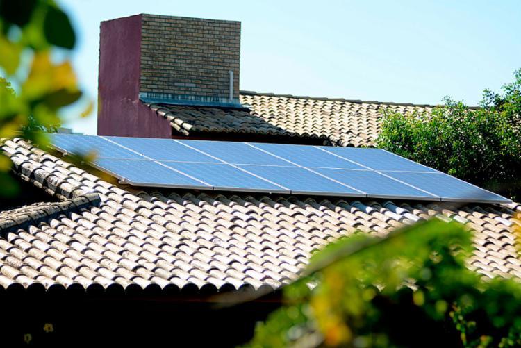 IPTU Amarelo é uma certificação sustentável que incentiva as pessoas a implantarem o sistema de energia solar - Foto: Jefferson Peixoto | Secom