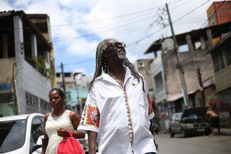 Antônio Carlos dos Santos, o Vovô do Ilê, busca a candidatura pelo PDT:
