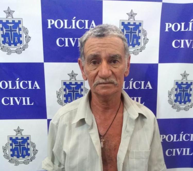 O suspeito foi autuado em flagrante por dupla tentativa de homicídio - Foto: Divulgação | Polícia Civil