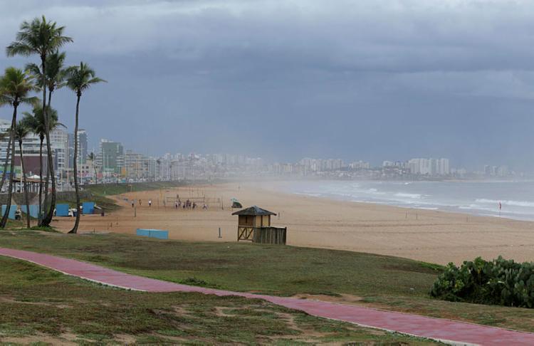 Tanto sexta, quanto sábado, não há riscos para alagamentos e deslizamentos de terra - Foto: Uendel Galter | Ag A TARDE