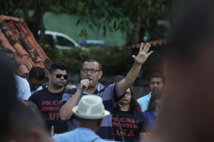 Deputado convocou para ato no Farol da Barra no 7 de setembro   Foto: Felipe Iruatã   Ag. A TARDE - Foto: Felipe Iruatã   Ag. A TARDE