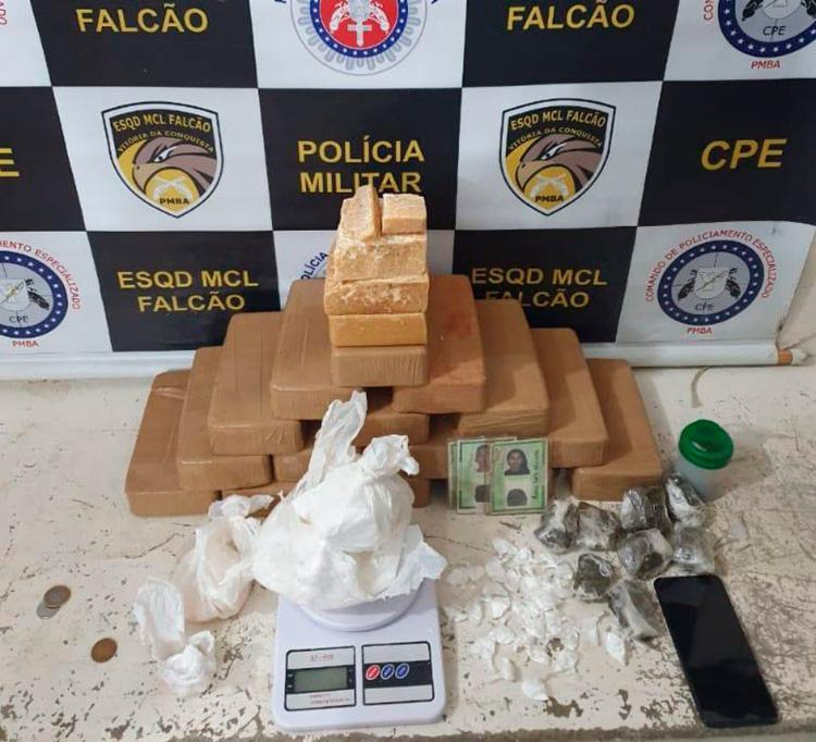 Todo material apreendido foi levado para a sede Coorpin - Foto: Divulgação | SSP