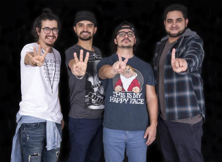 Afonso Padilha, Thiago Ventura, Márcio Nonato e Diih Lopes se apresentam em Salvador - Foto: Divulgação