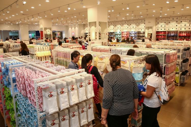 Brasil é o primeiro país da América do Sul a ter lojas da Miniso - Foto: Divulgação