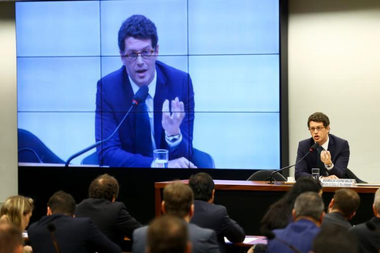 Ministro do Meio Ambiente participou de audiência pública na Comissão de Meio Ambiente e Desenvolvimento Sustentável da Câmara - Foto: Marcelo Camargo l Agência Brasil