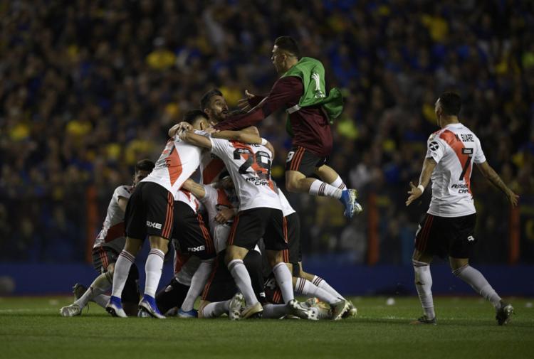 Atual campeão, o River busca o quinto título na competição, em sua sétima final - Foto: Juan Mabromata | AFP