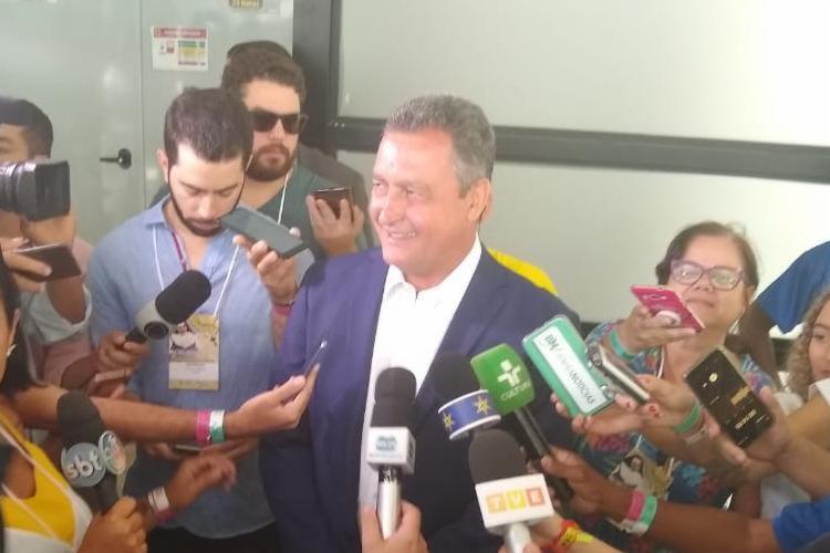 Rui afirmou que homenagem deve ser feita por fé - Foto: Divulgação | Ascom Fonte Nova