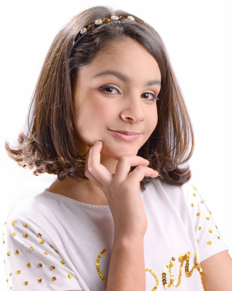 A cantora e atriz infantil Lara Oliva irá se apresentar durante o evento - Foto: Divulgação