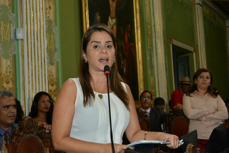 Projeto para acordo de irmandade foi proposto pela vereadora Lorena Brandão. Foto: Valdemiro Lopes | CMS - Foto: Foto: Valdemiro Lopes | CMS