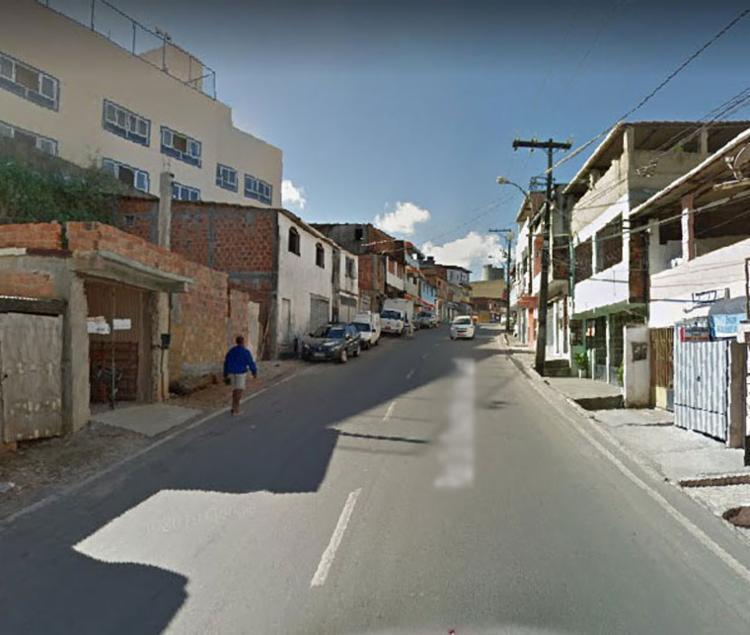 Caso ocorreu neste final de semana - Foto: Reprodução   Google Street View