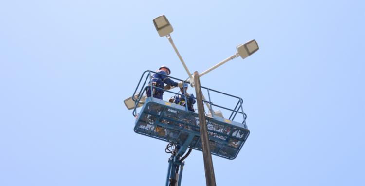 Serão instalados nove postes de iluminação - Foto: Divulgação