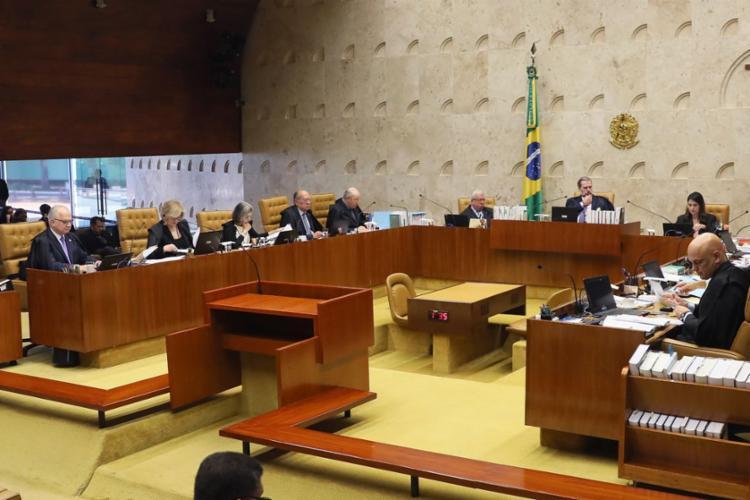 Na véspera do julgamento, houve embate entre ministros em duas ocasiões distintas - Foto: Nelson Jr. | SCO | STF