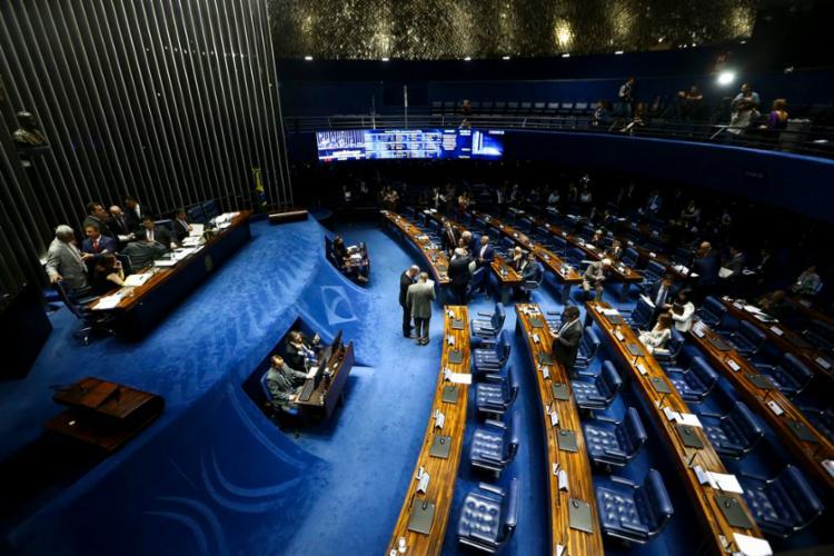 Projeto precisa alcançar o mínimo de 49 votos favoráveis - Foto: Marcelo Camargo   Agência Brasil
