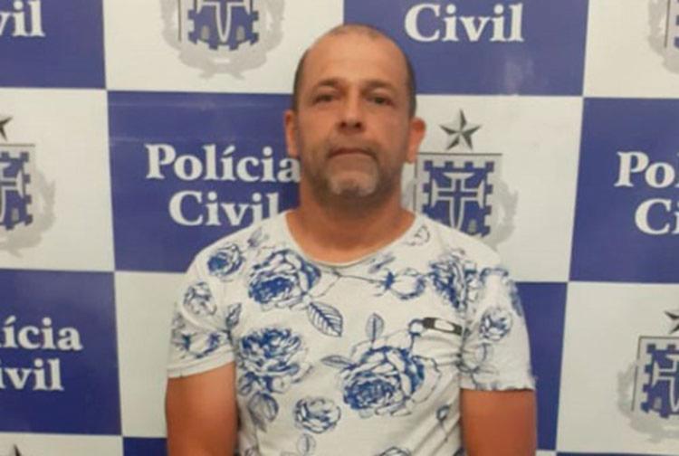 João Carlos Souza de Andrade foi encaminhado ao Conjunto Penal de Jequié - Foto: Divulgação | Polícia Civil