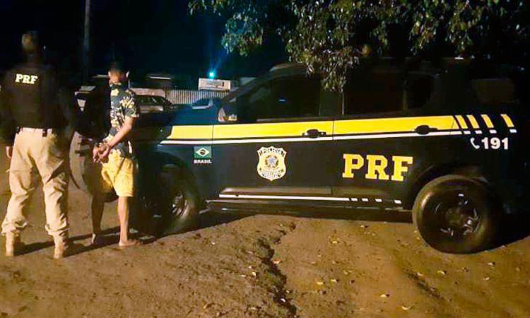 COMETEU HOMICÍDIO EM SÃO PAULO E FOI PRESO EM BONFIM PELA PRF