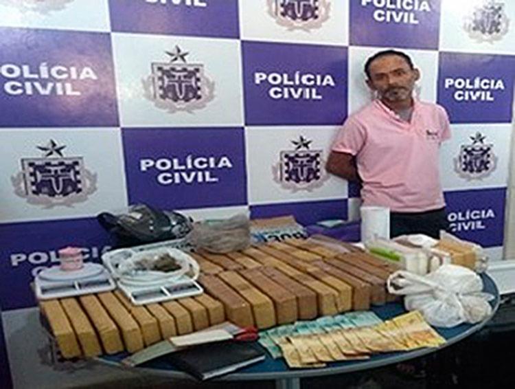 As drogas foram encaminhados à perícia, no Departamento de Polícia Técnica (DPT) - Foto: Divulgação | Polícia Civil