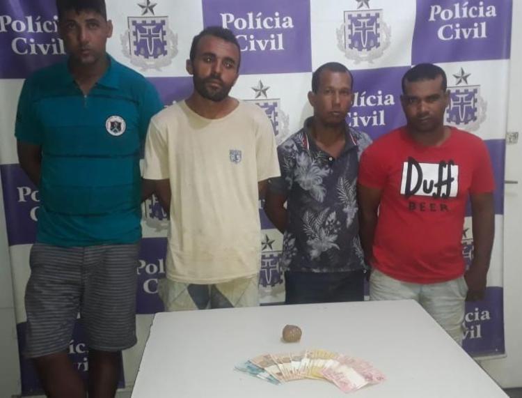 Os suspeitos foram encaminhados a Vara Criminal de Juazeiro - Foto: Divulgação   Polícia Civil