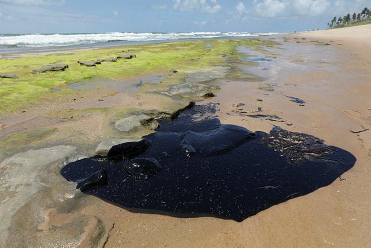 Shell já havia dito que o conteúdo original daqueles tambores não tem relação com o óleo cru que vazou no Atlântico - Foto: Adilton Venegeroles   Ag A TARDE
