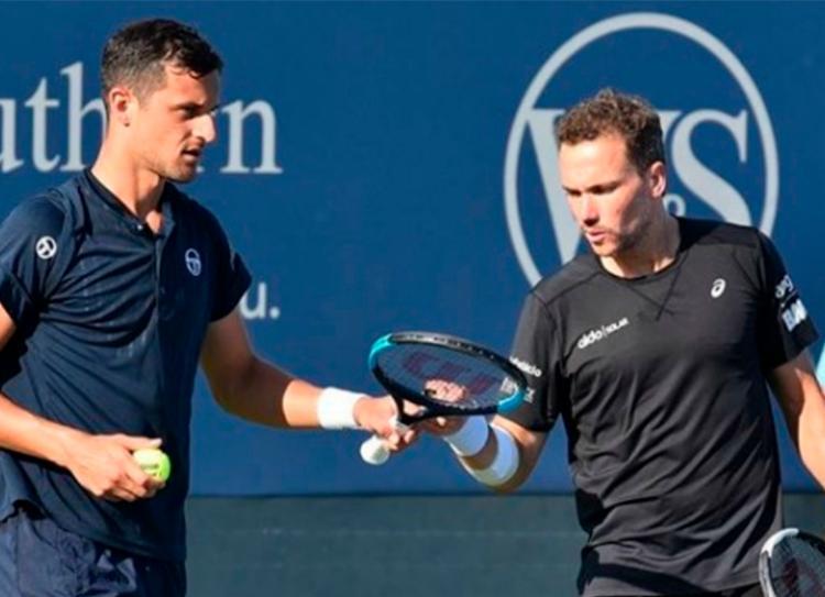 Brasileiro e croata acabaram eliminados do torneio de nível ATP 500 - Foto: Reprodução   Instagram
