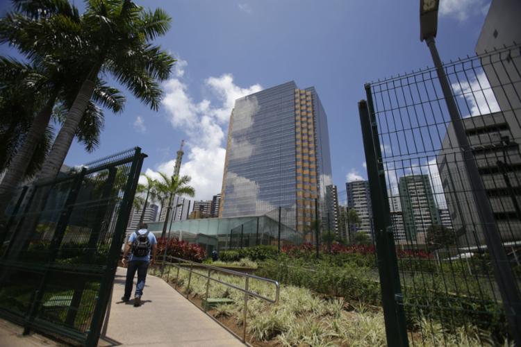 Torre Pituba, sede da Petrobras em Salvador - Foto: Joá Souza | Ag. A TARDE