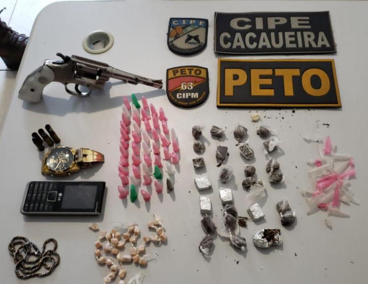 Material apreendido pela polícia durante operação - Foto: Divulgação