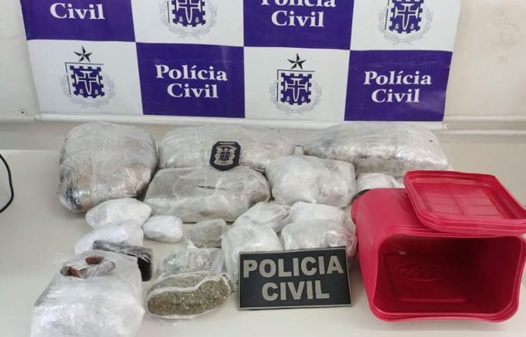 Material apreendido foi encaminhado para o Departamento de Polícia Técnica (DPT) - Foto: Divulgação | Polícia Civil