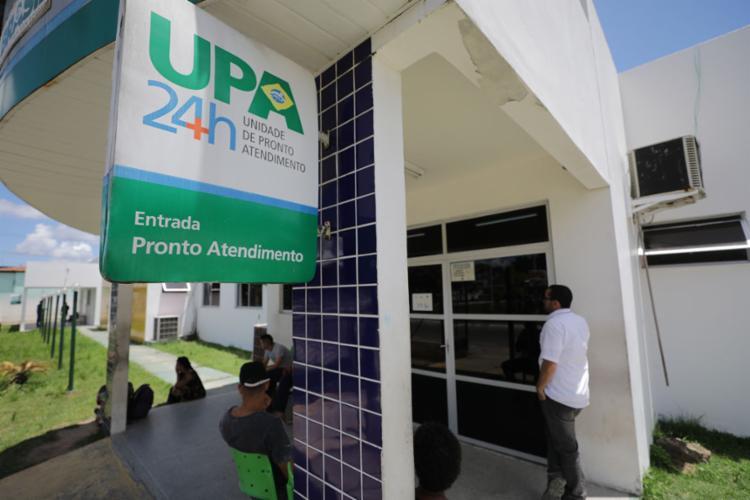 No Gravatá, a reportagem de A TARDE flagrou pacientes com tempo de espera superior a duas horas - Foto: Joá Souza   Ag. A TARDE